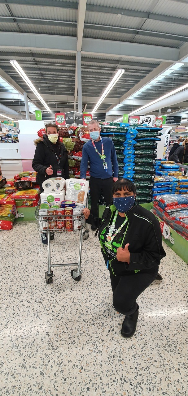 Hillingdon Crisis Support Service donation | Asda Hayes