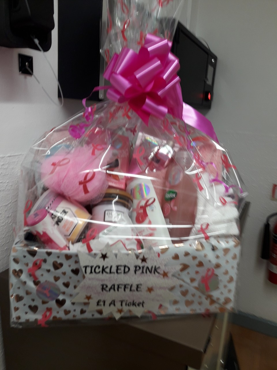 Tickled Pink raffle | Asda Chapeltown