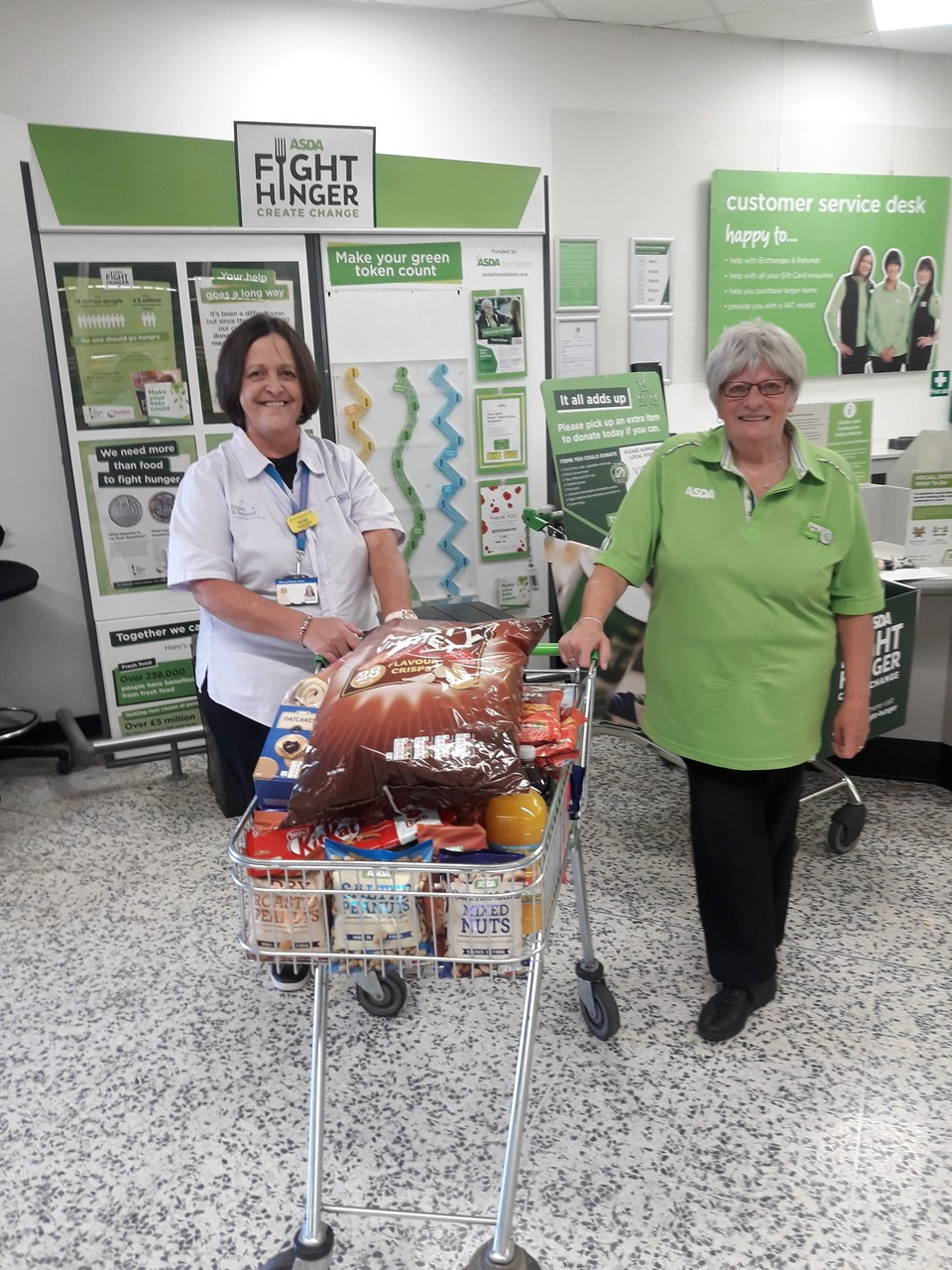 Bristol Dental Hospital donation | Asda Bedminster
