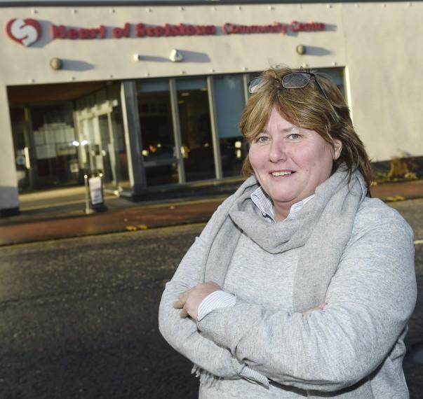 Heart of Scotstoun centre manager Amanda Quinn