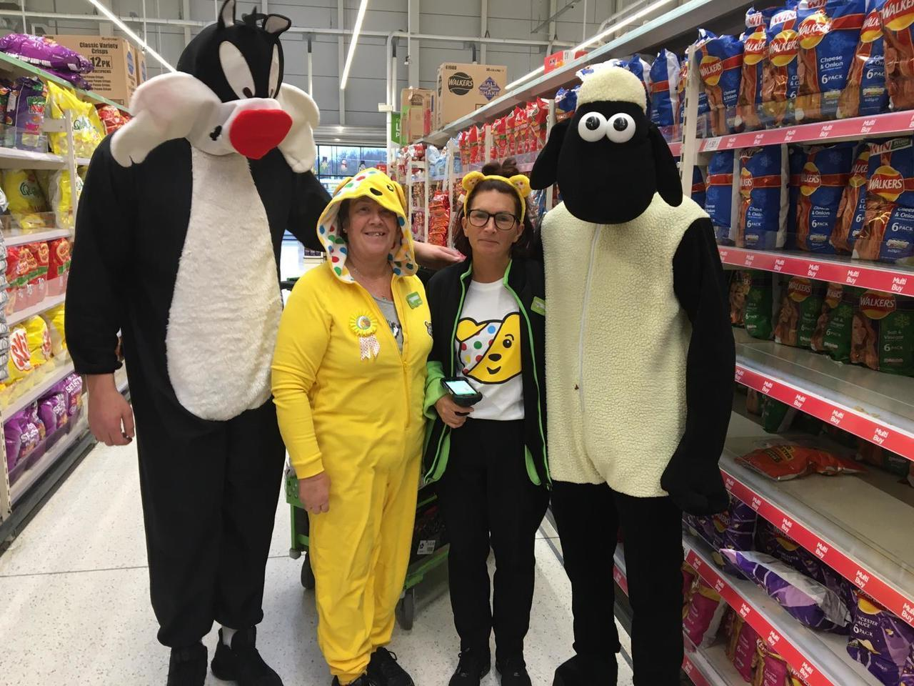 Our wonderful colleague Julie is always helping others | Asda Swindon Haydon