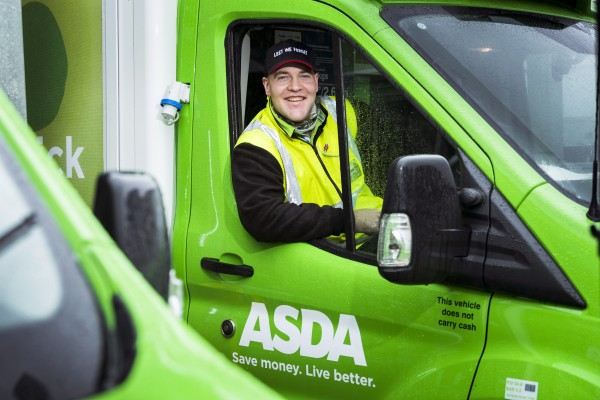 Stephen Butler from Asda Dumbarton