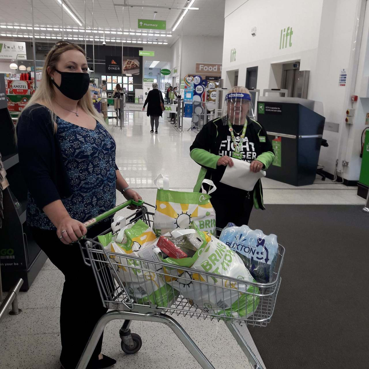 Donation to Age UK | Asda Thornaby