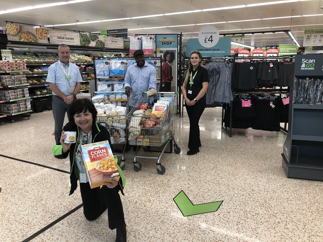 Backing our Fight Hunger Create Change programme | Asda Cookstown