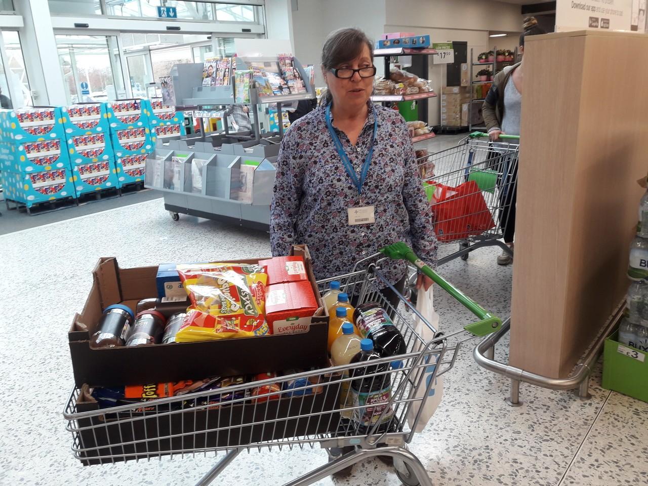 Donation to the NHS from Asda Newport | Asda Newport