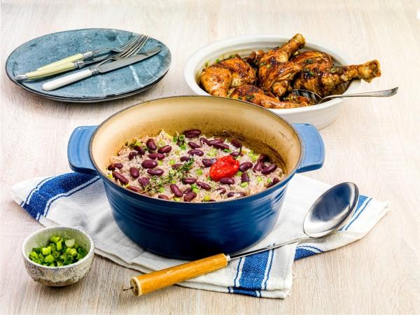 Asda Meals That Made Them Jasmin Cox-Williams rice and peas recipe