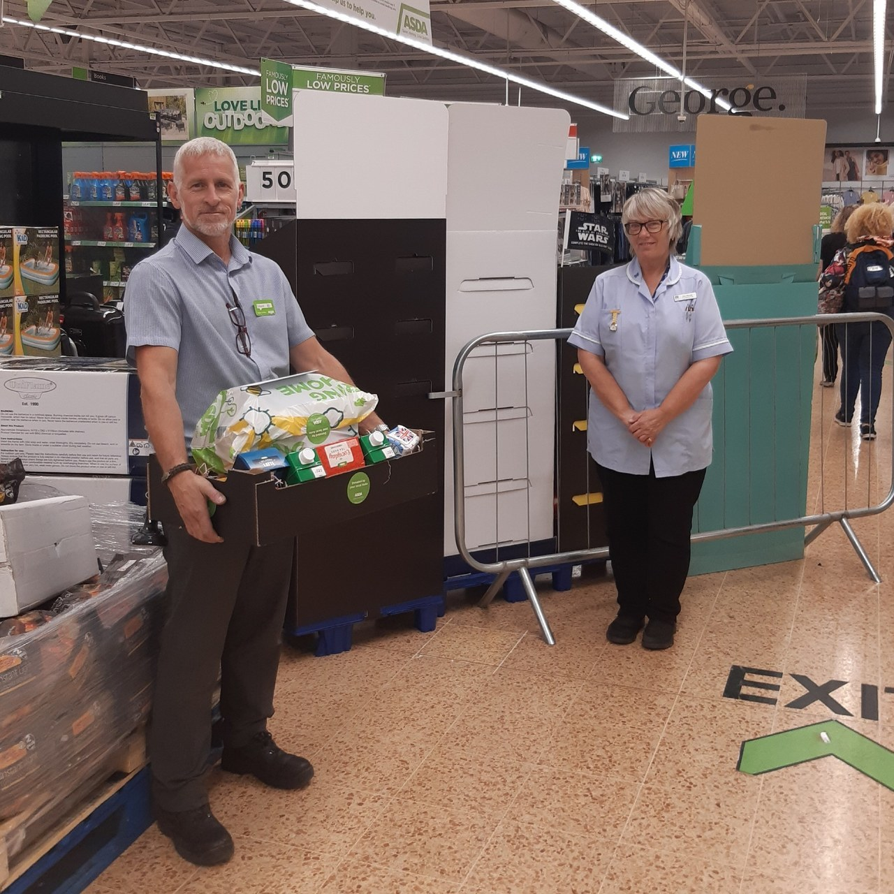 Supporting local care workers | Asda Norwich