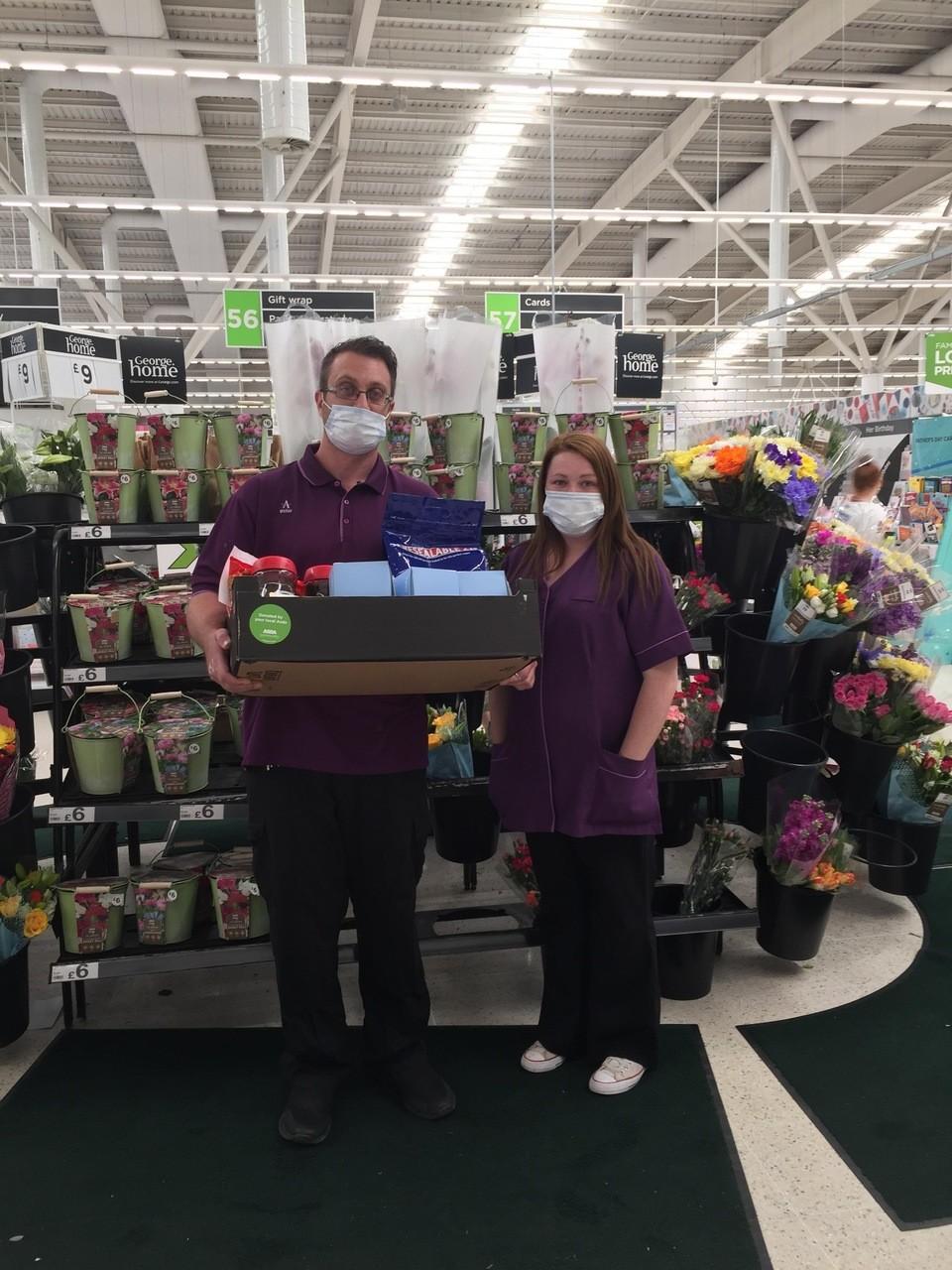 Care home donation | Asda Wigan