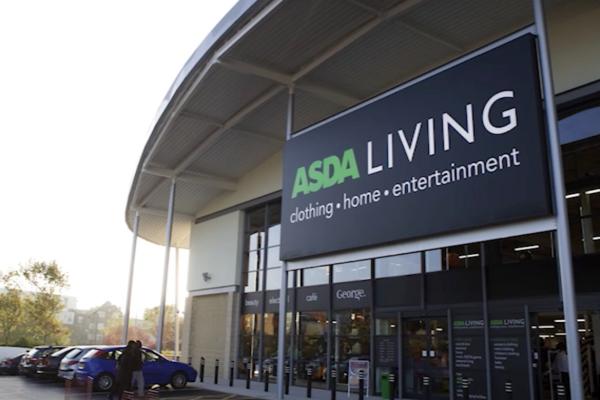 Asda living store exterior