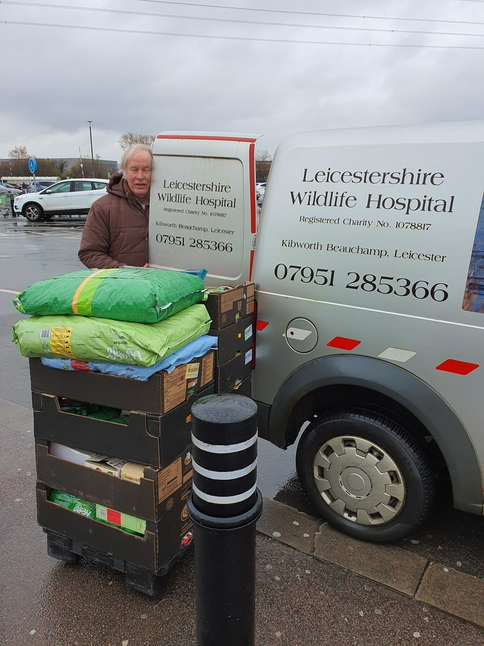Donation to the Leicestershire wildlife hospital | Asda Leicester