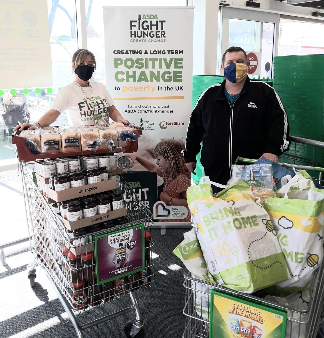Foodbank donations keep coming... 🥰👏🛒 | Asda Sutton in Ashfield