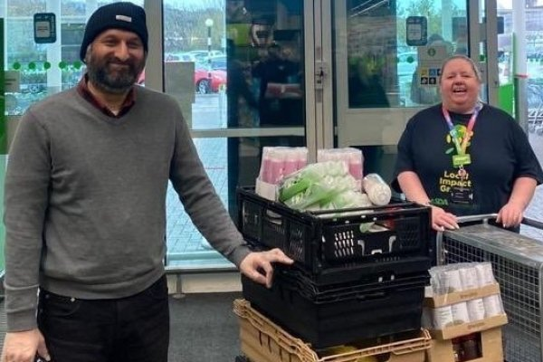 Food bank donation  | Asda Dewsbury