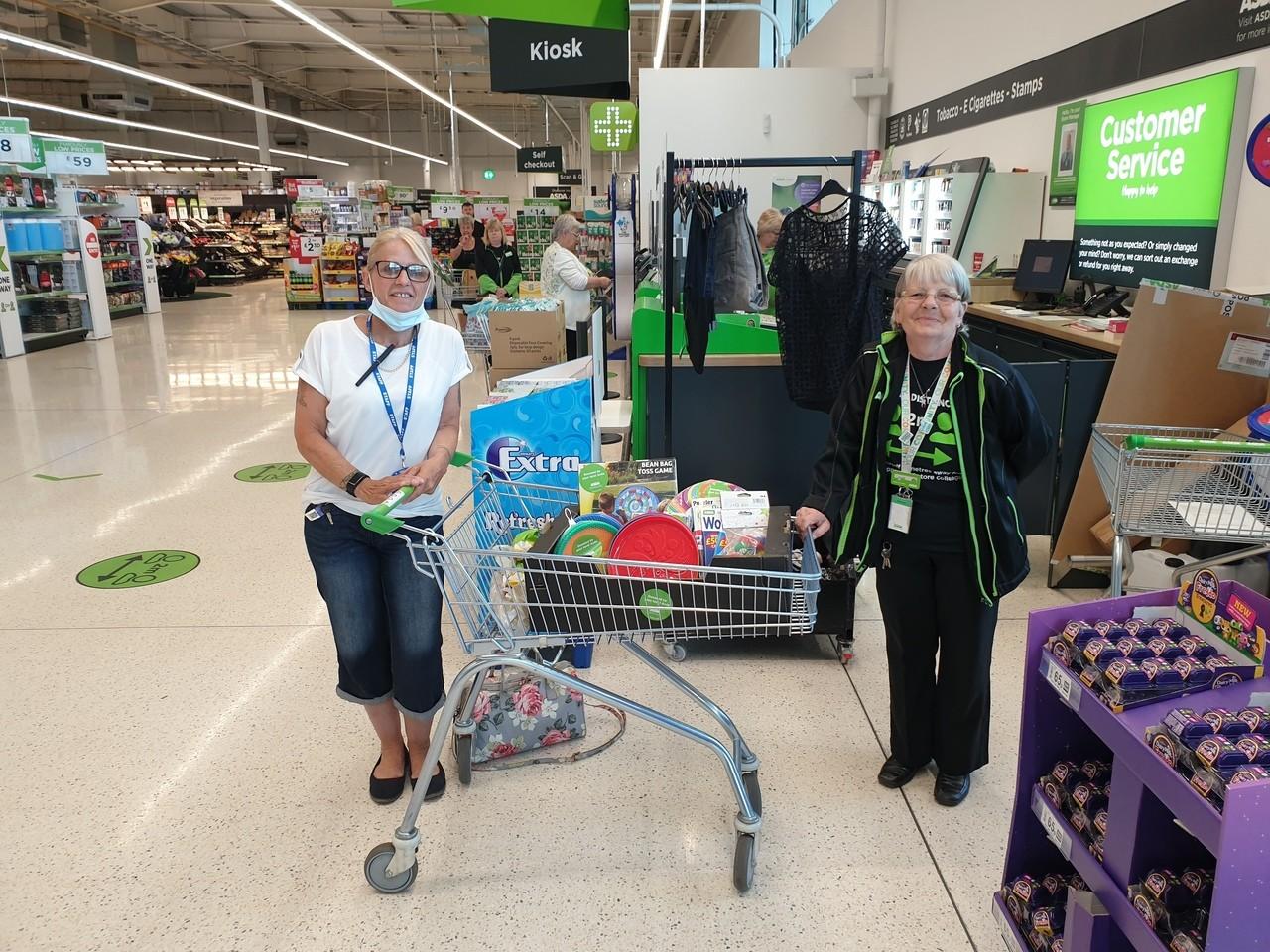 Donation to Aston House | Asda Hereford