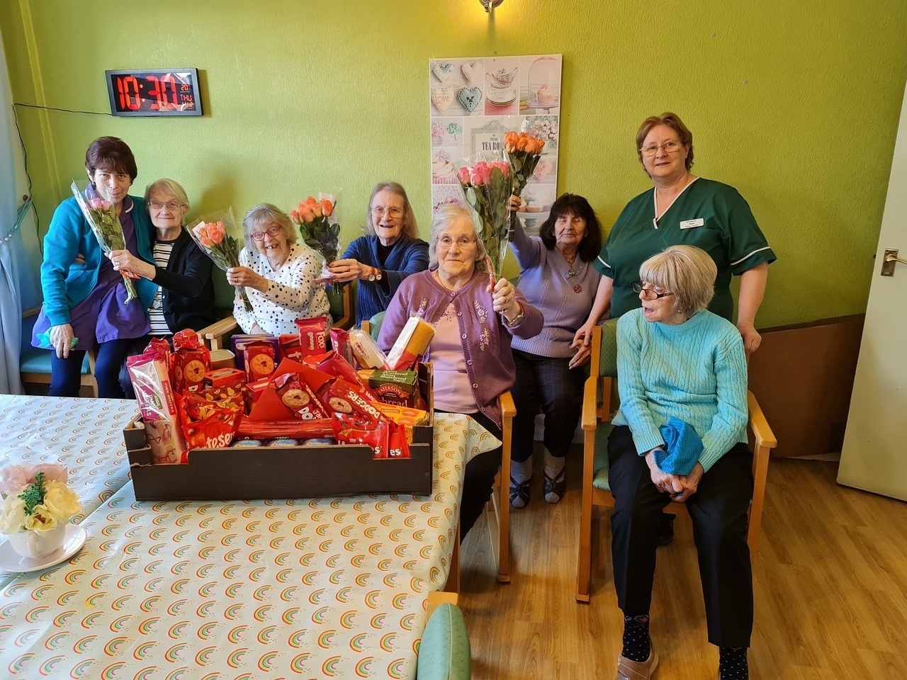 Valentine's Day at Willow Bank care home | Asda Clayton Green