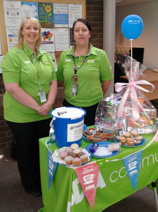 Asda Clayton Green celebrate the NHS's 70th anniversary
