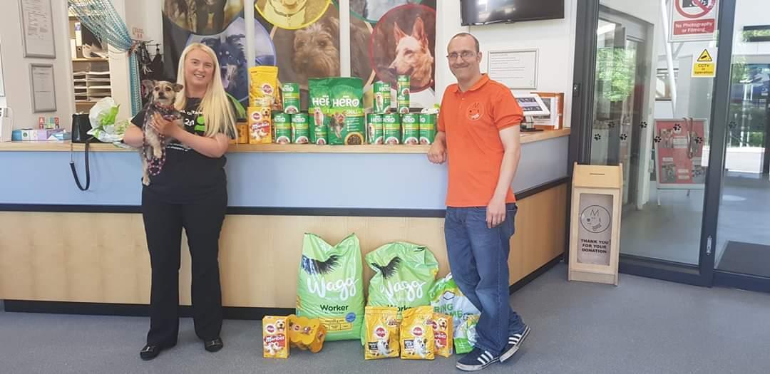 Donation of Dog Food . | Asda Harpurhey