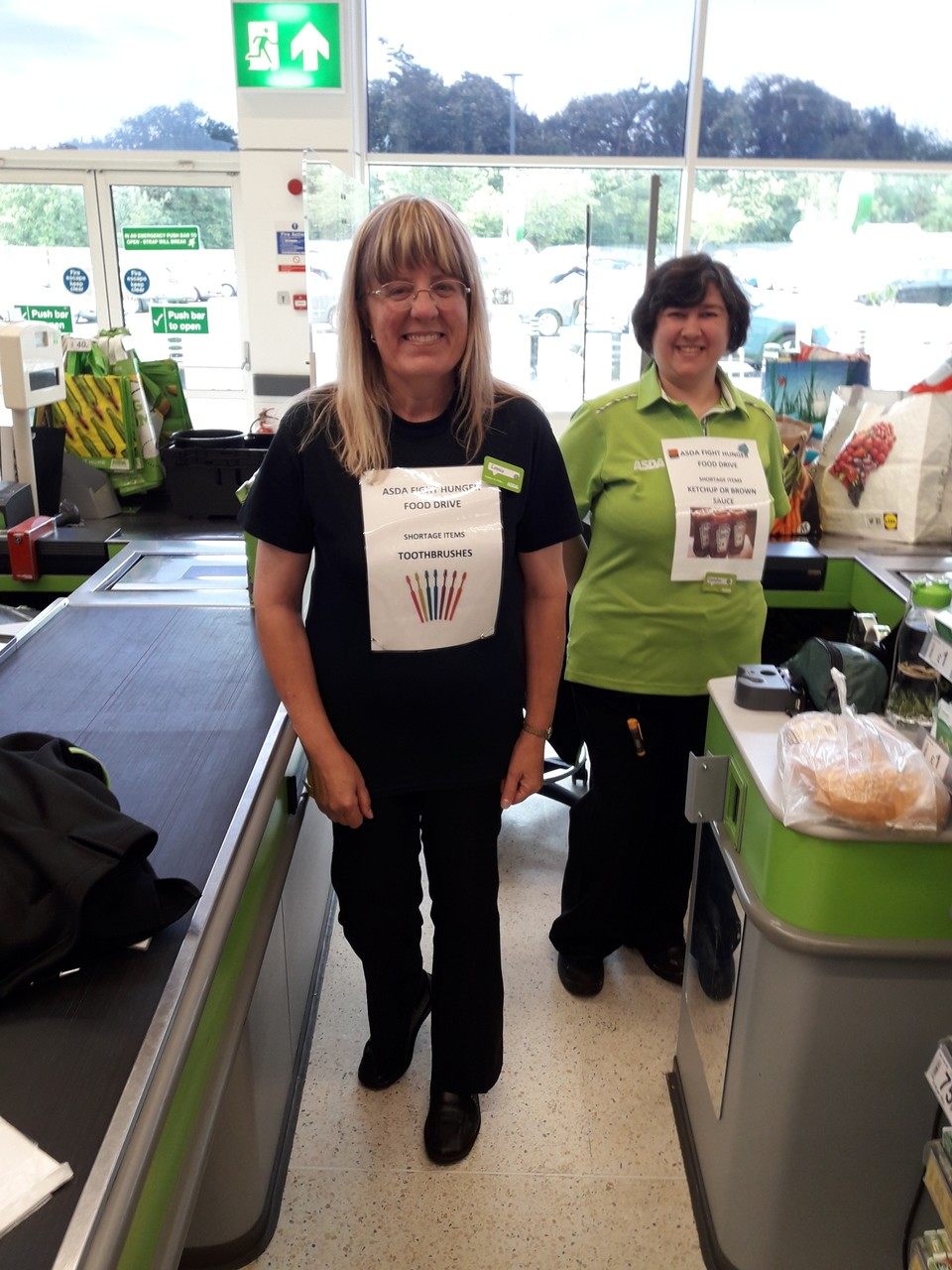 Supporting our Fight Hunger campaign | Asda Chatham