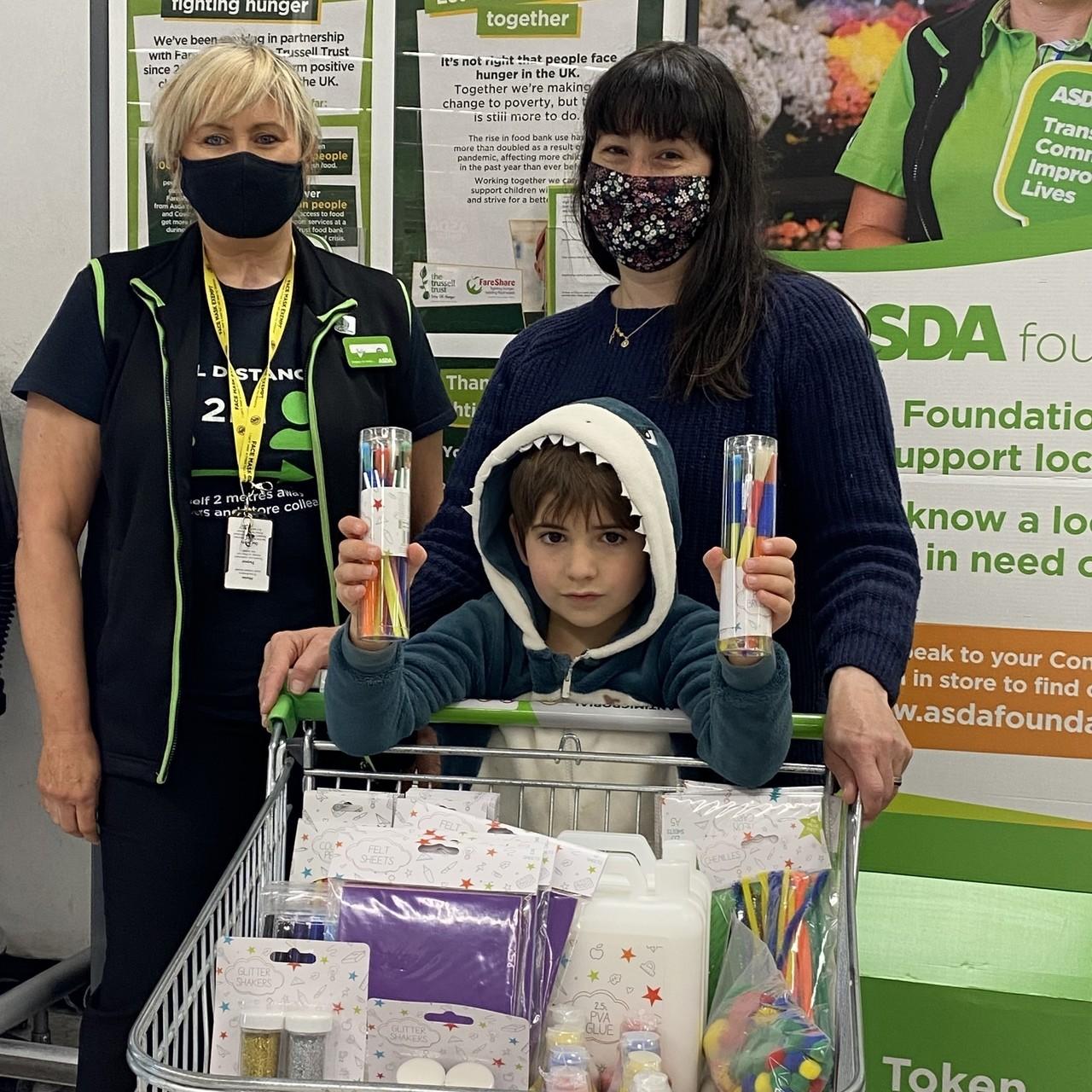 Store donation   Asda Bedminster