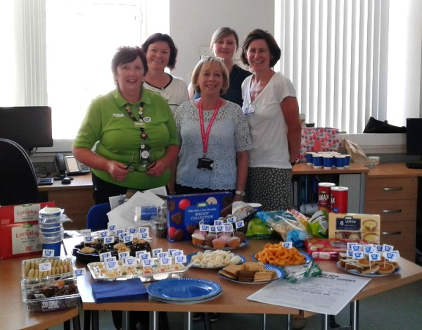 Asda Middleton Park celebrate the 70th anniversary of the NHS