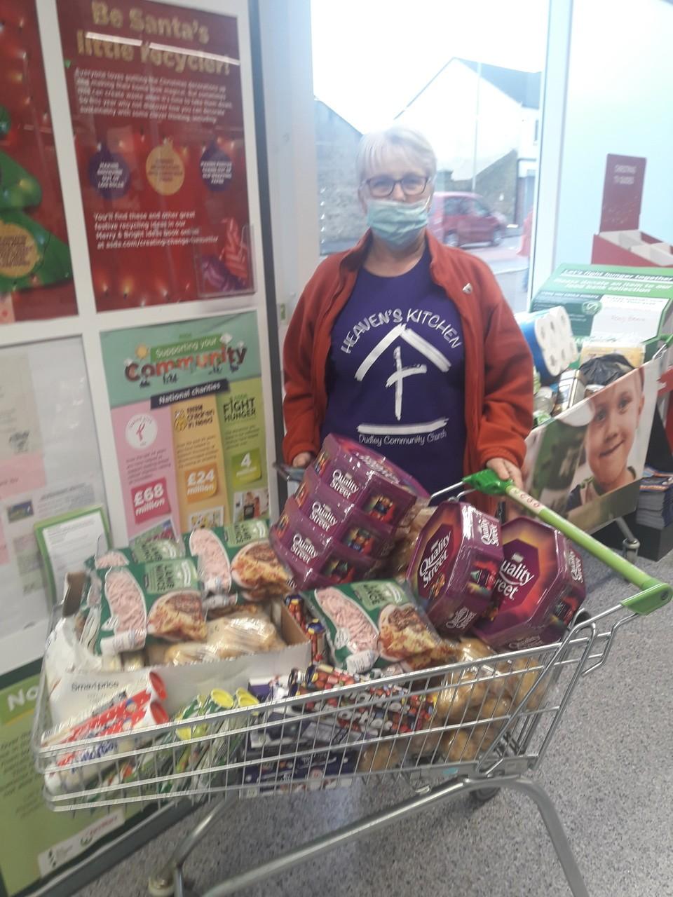 Donation for the homeless... | Asda Sedgley