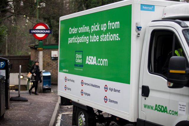 Asda Pick up Truck
