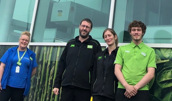 Denise Hitchcock works at Asda Dunbar with three relatives