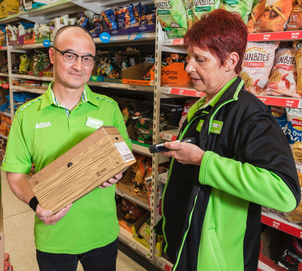 Billy Chan is thriving after getting a job at Asda Chesser in Edinburgh