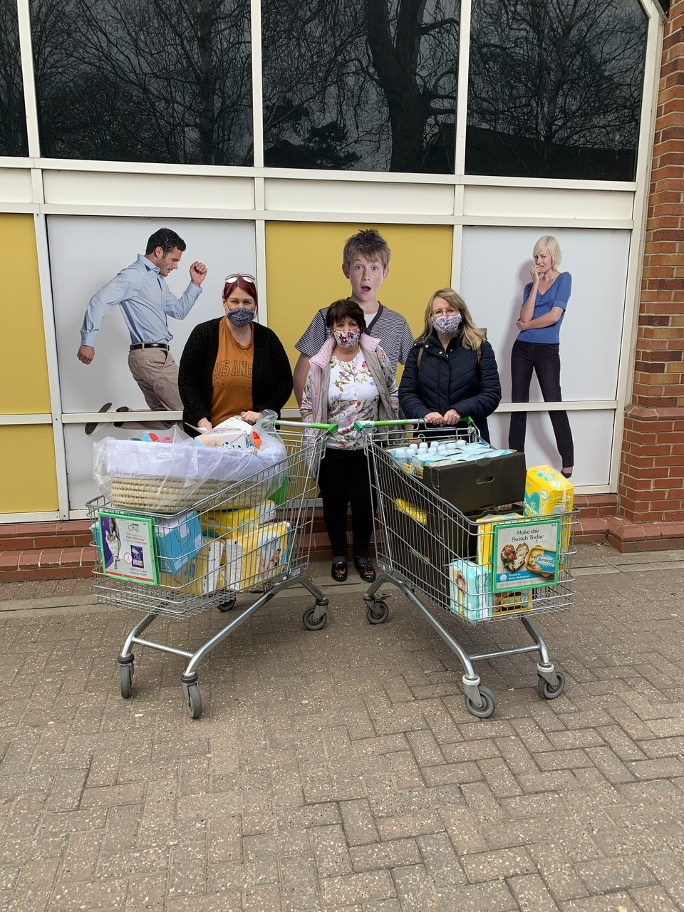 Supporting the communities grant   Asda Stowmarket