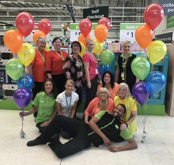 Colleagues at our Hessle store in Hull support Pride
