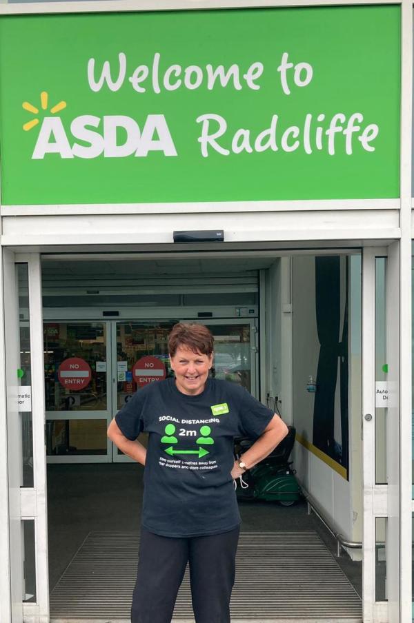 Jill Bent from Asda Radcliffe