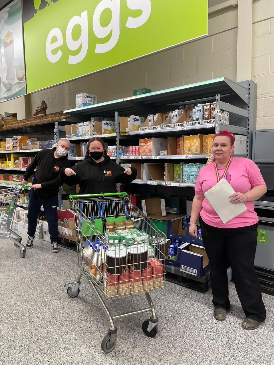 Cherry Tree Project over the moon with £750 grant to help struggling families | Asda Reddish