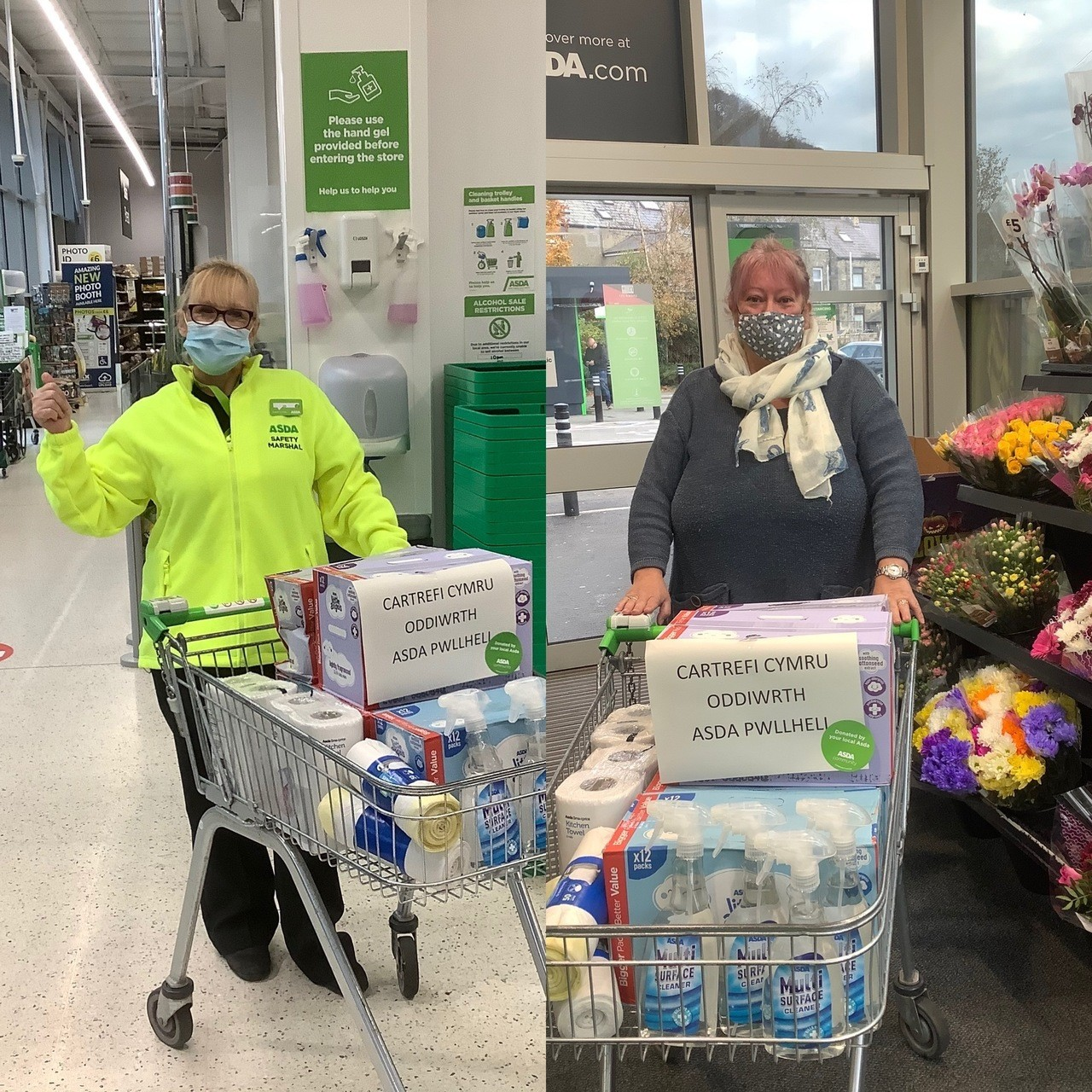 Donations of goods in our community  | Asda Pwllheli