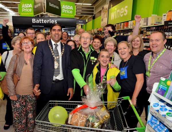 Happy retirement to Roy Pennington from Asda Worcester