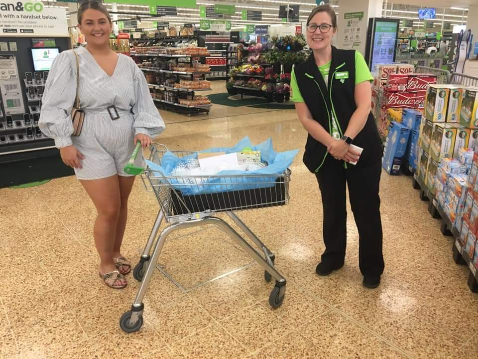 Nurse Hannah thanks former colleagues | Asda Warrington