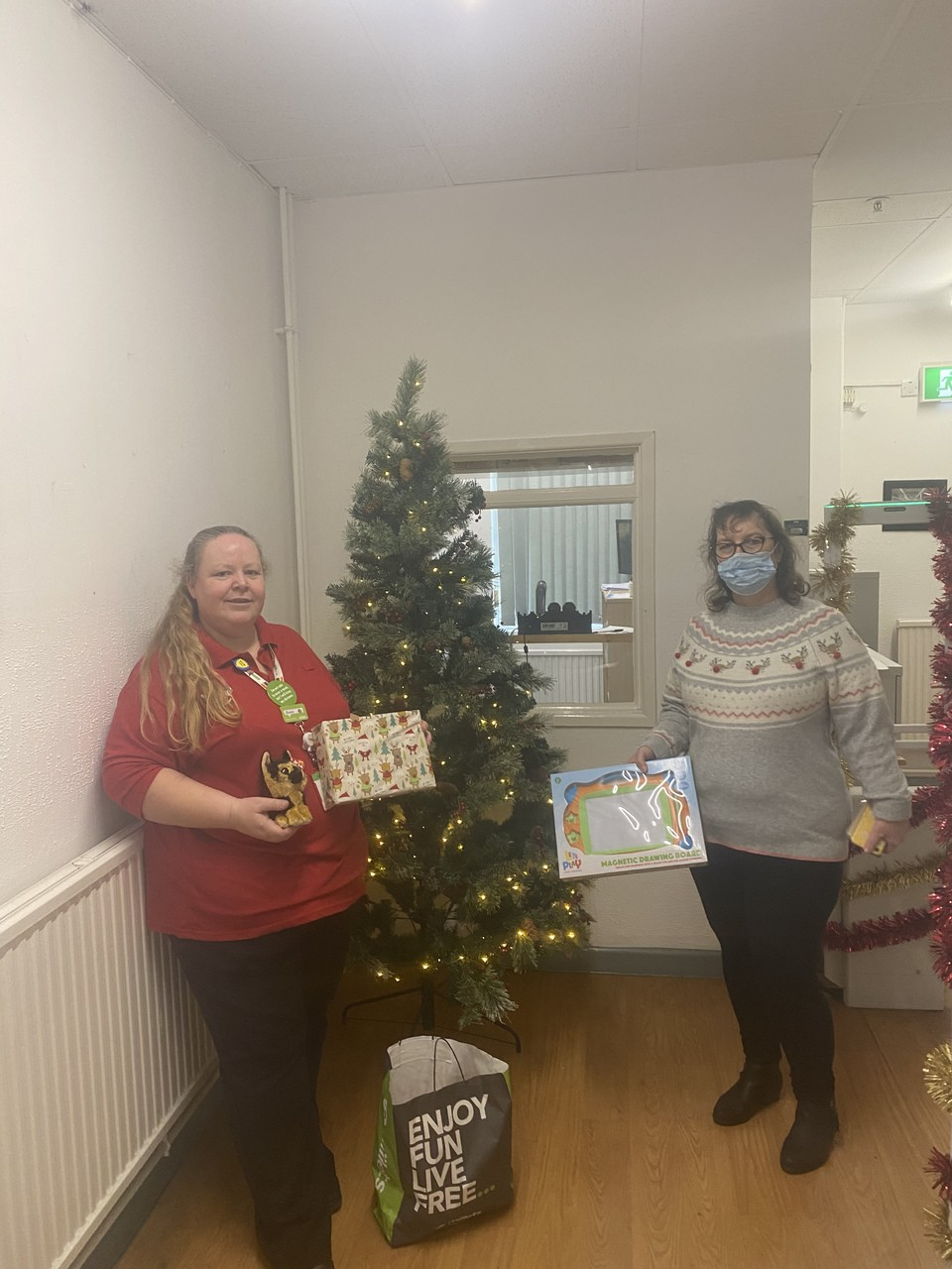Hospital staff help out local appeal | Asda Gosport