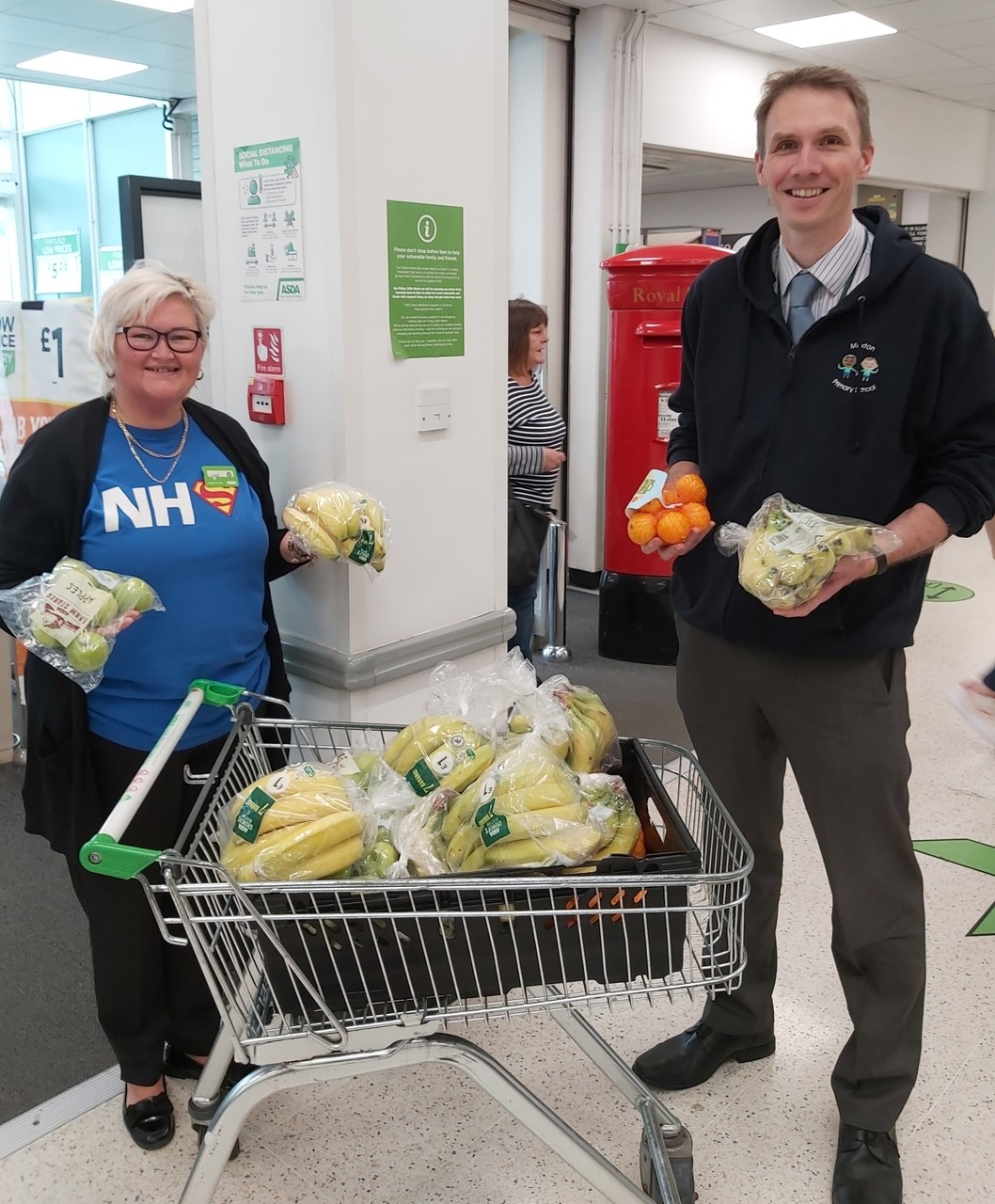 Healthy Donation | Asda Donnington Wood