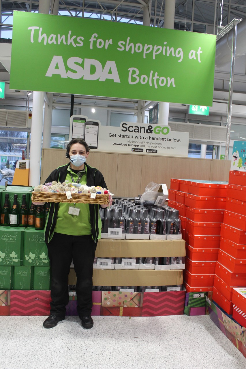 'Love came down at Christmas'. | Asda Bolton