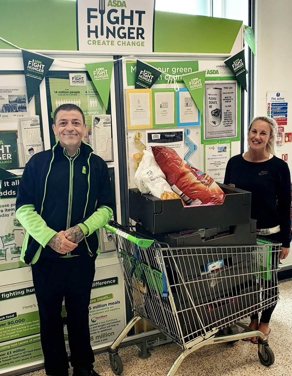 School picnic donation | Asda Plymouth