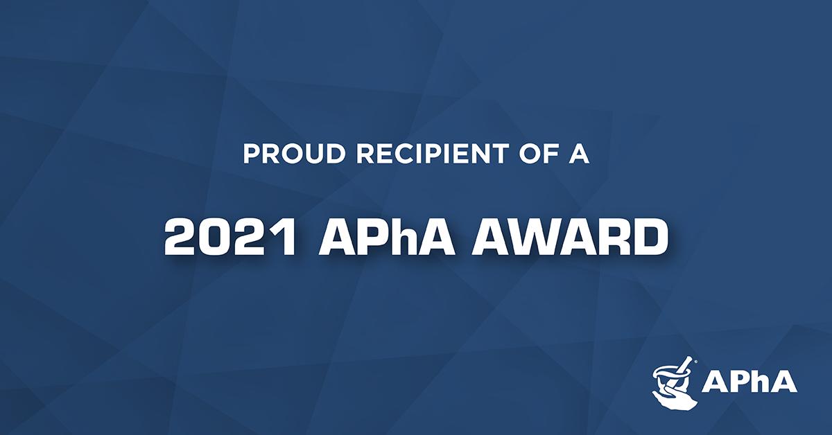 APhA 2021 Award Badge