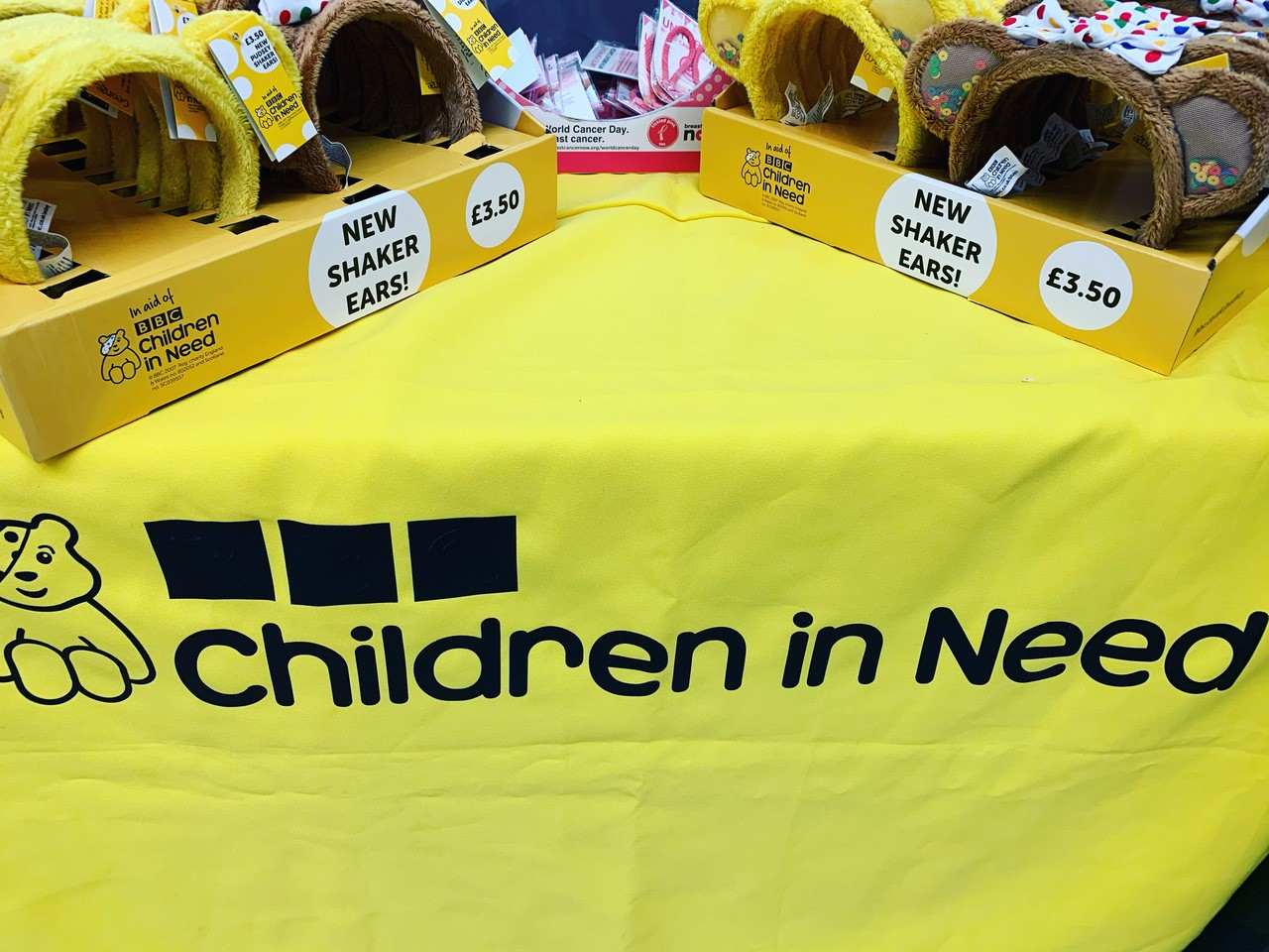 Children In Need fundraising | Asda Feltham