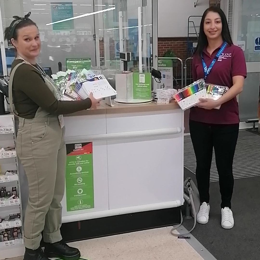 Donating to Buzz manchester health and wellbeing service | Asda Wythenshawe