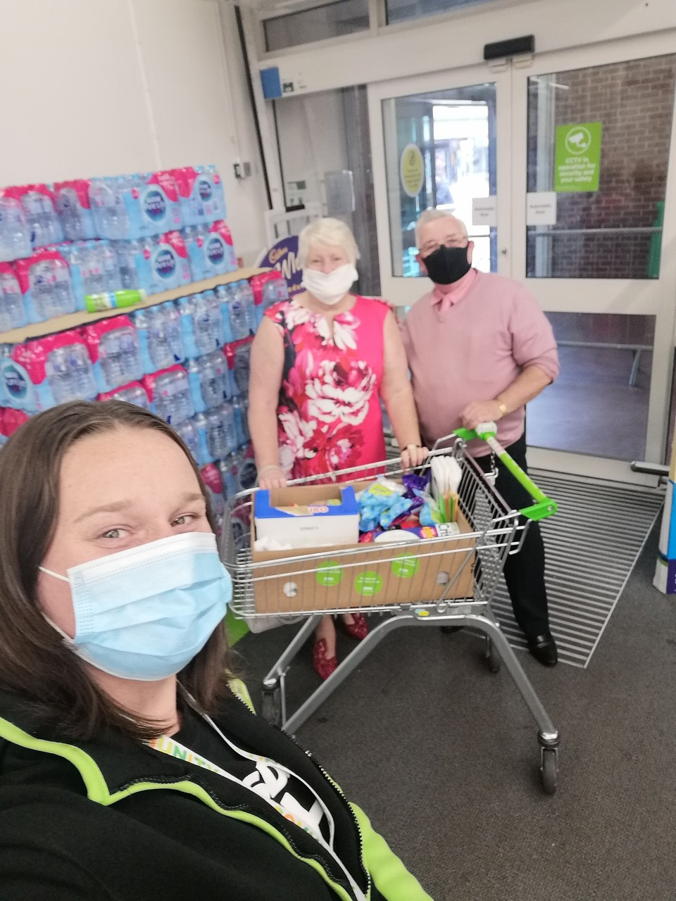 Donation for Johannesburg Gardens Community Centre | Asda Wythenshawe