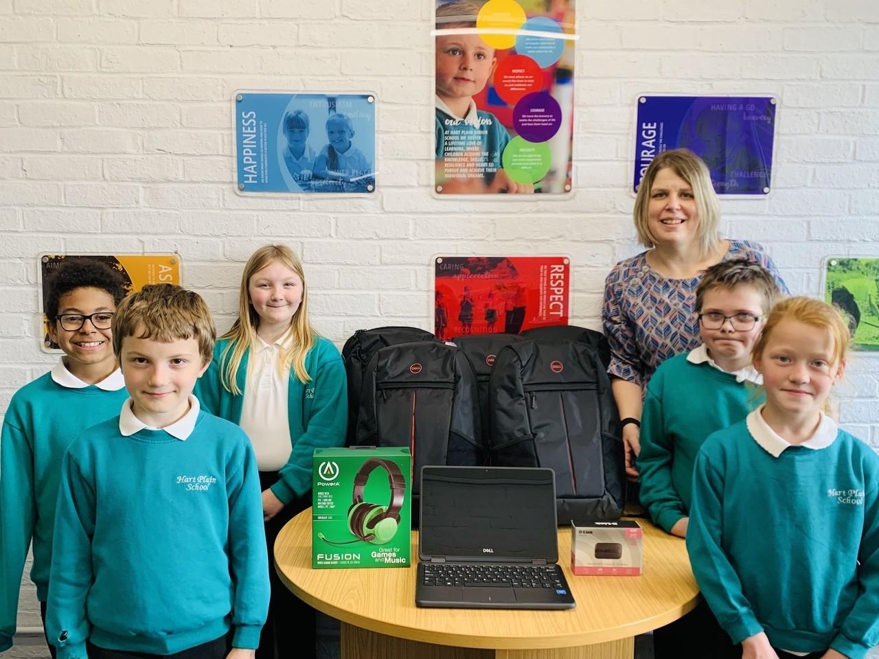 Laptop donation | Asda Waterlooville