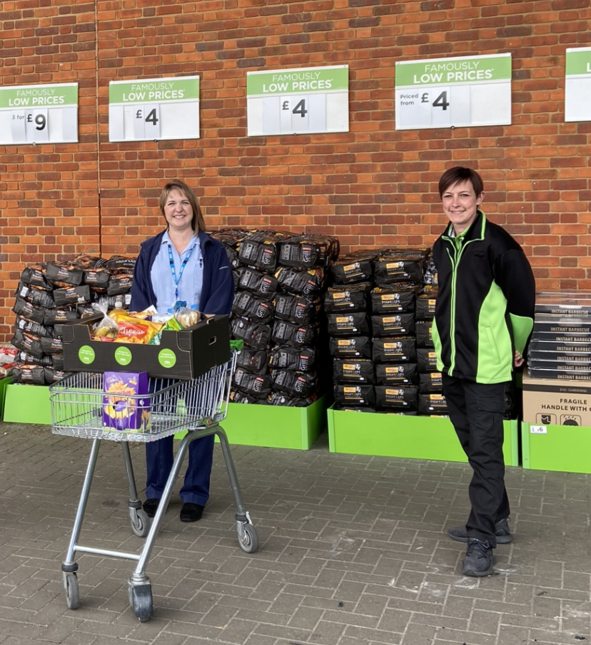 Donation to NHS team | Asda Biggleswade