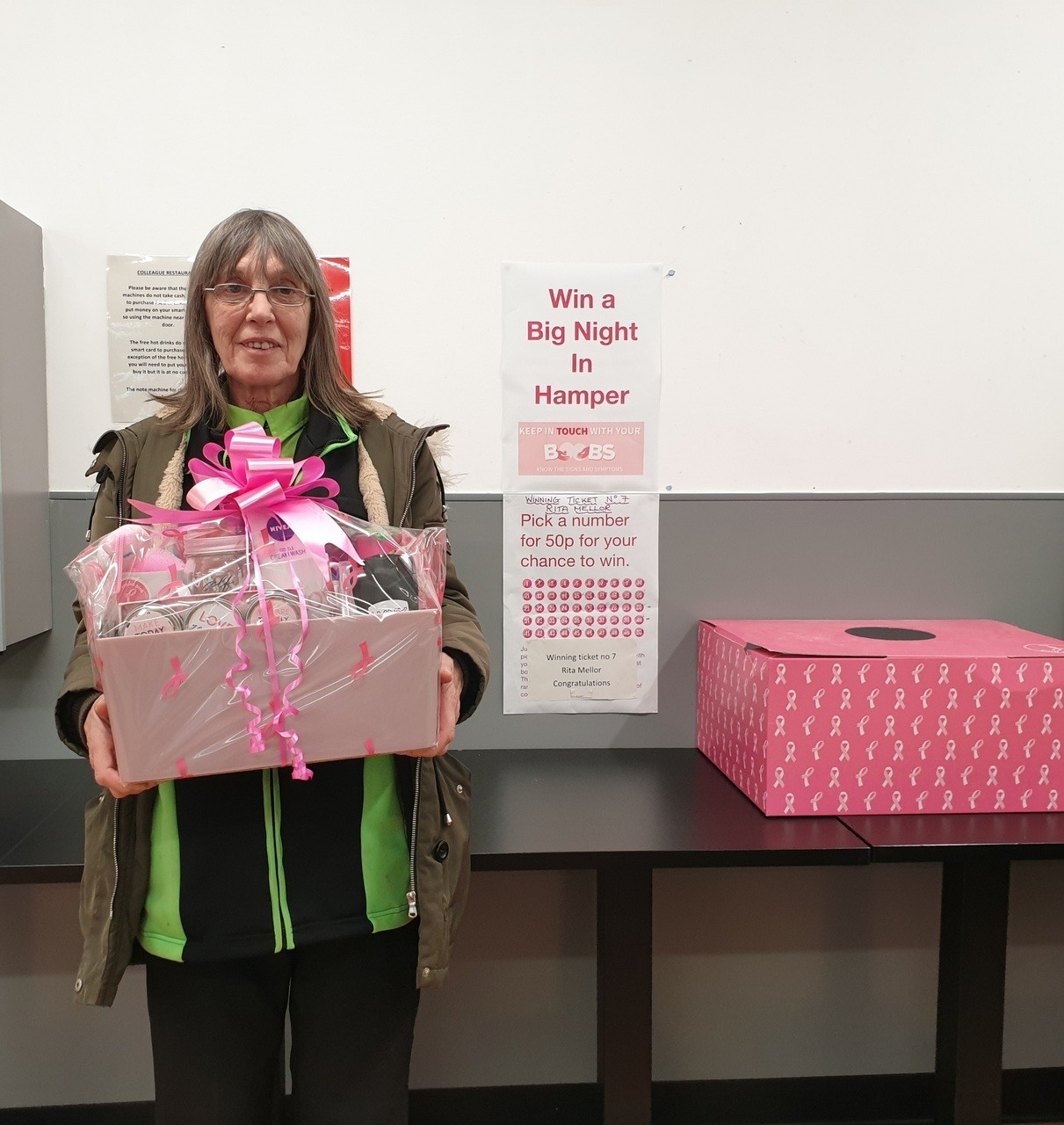 Tickled Pink Hamper for colleagues | Asda Hereford