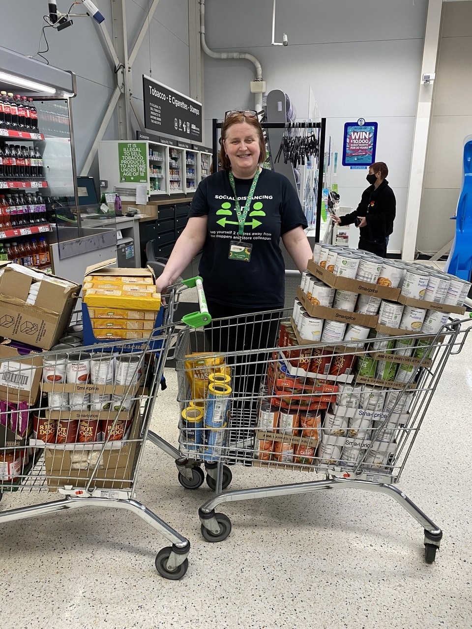 Supporting local foodbanks  | Asda Gorseinon