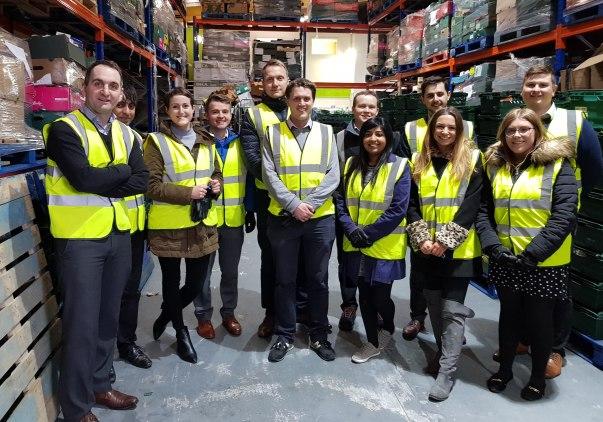 Asda head office colleagues volunteering at Barnsley food bank