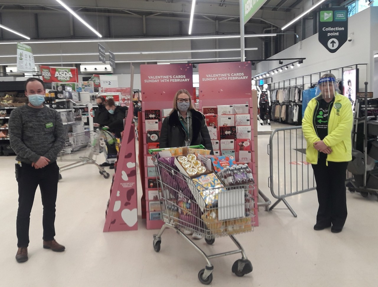 School donation | Asda Wrexham