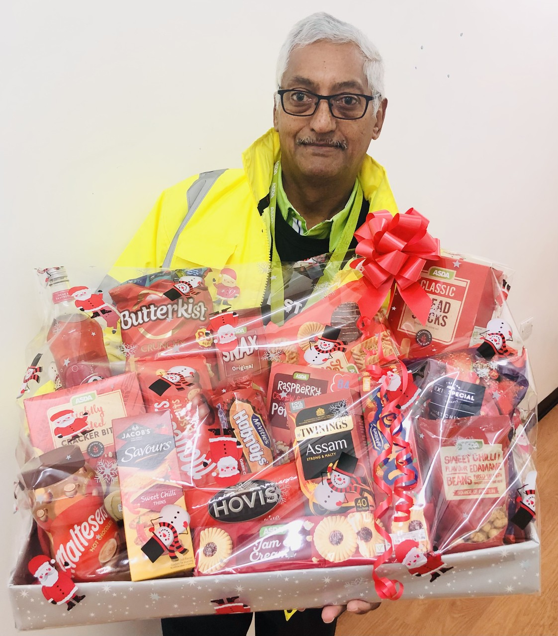 Winner of the Colleague Christmas Raffle | Asda Leicester Abbey Lane