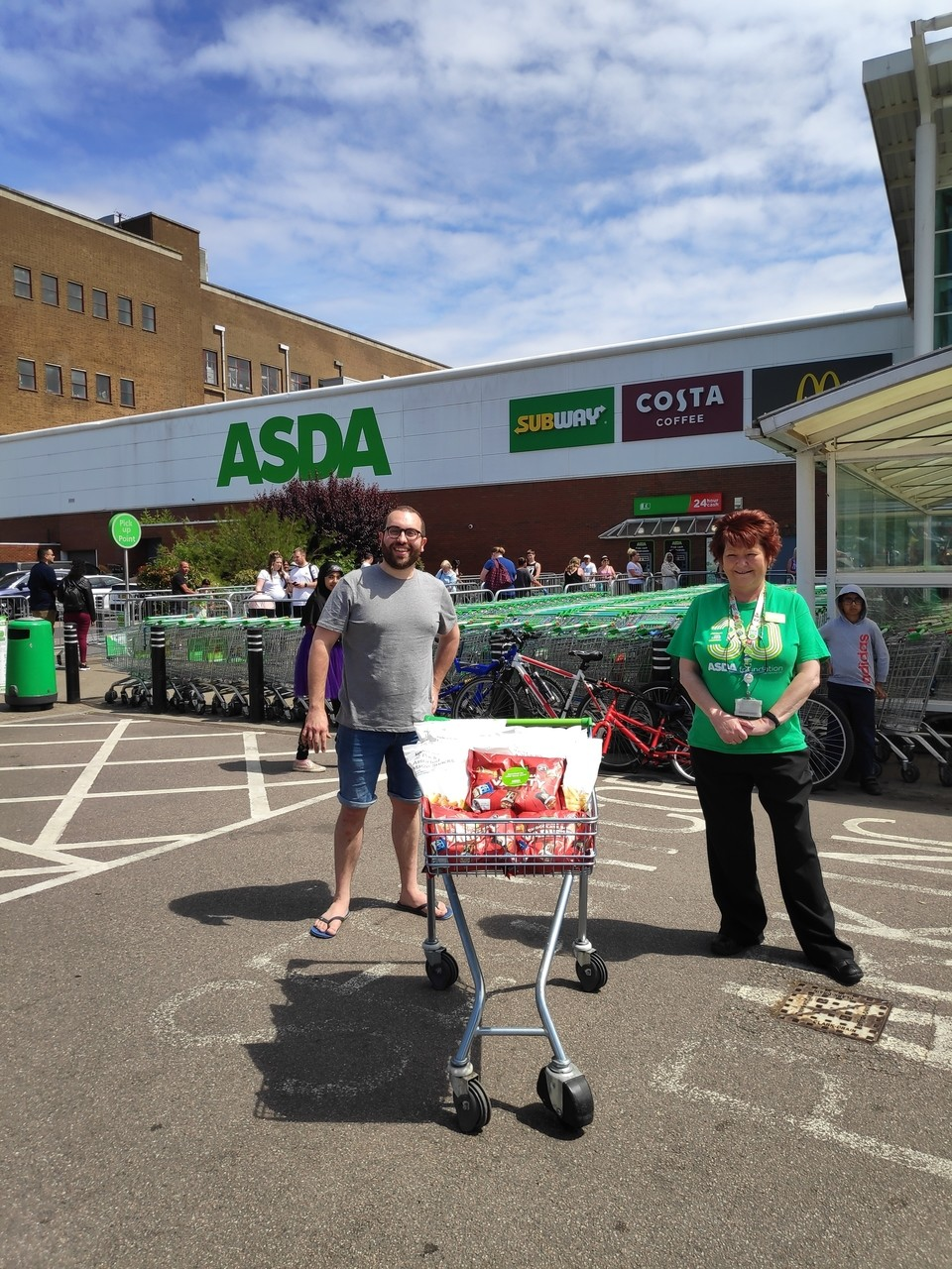 Salvation Army help | Asda Watford